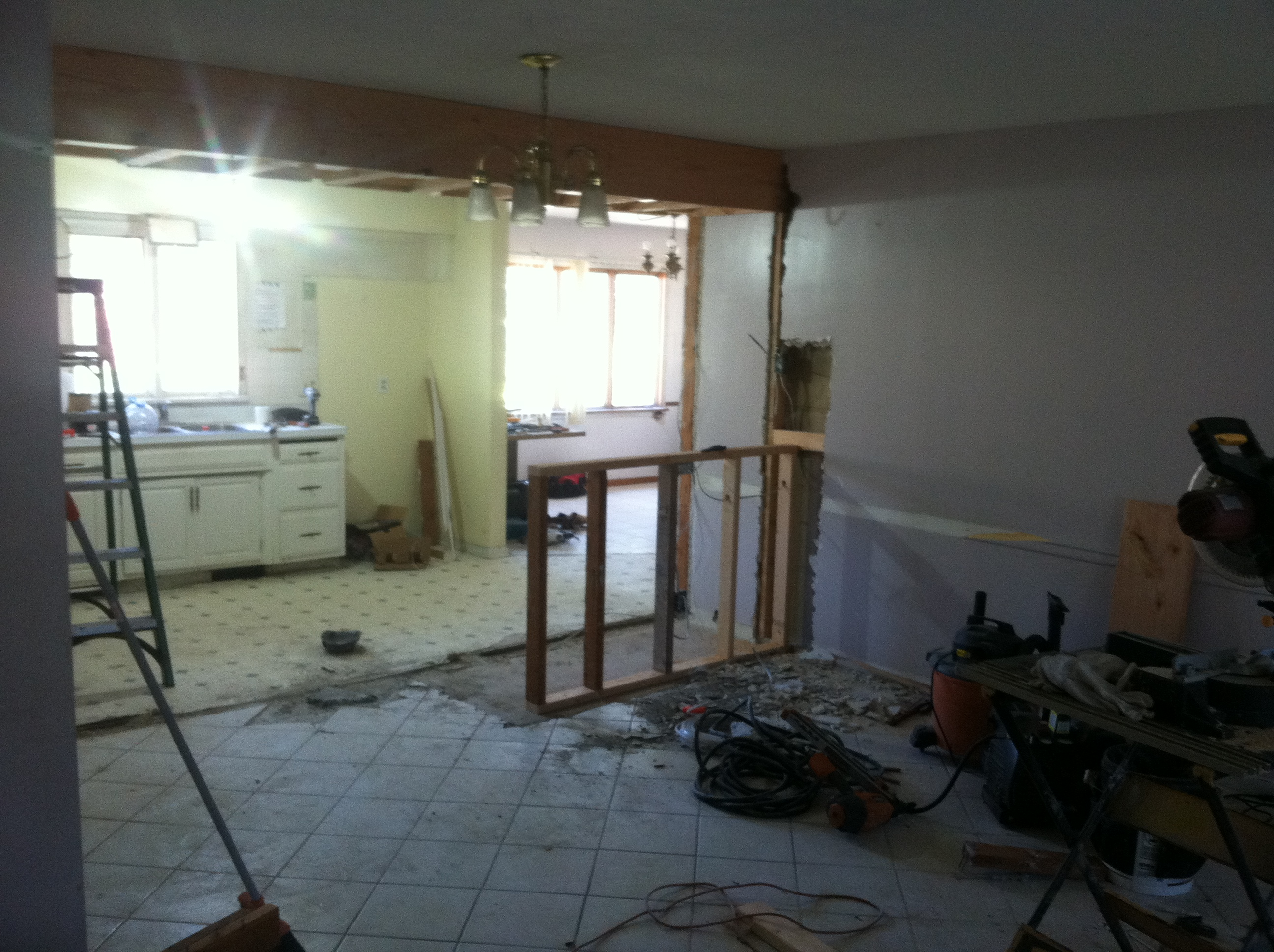 Opening Up The Kitchen The Truth About Flipping Homes